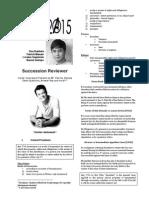 RUBEN BALANE SUCCESSION REVIEWER