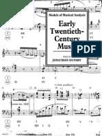 Early Twentieth Century Music