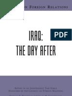 CFR - Iraq DayAfter TF