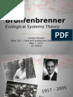educ 121 theorist presentation urie bronfenbrenner