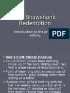Shawshank redemption essay