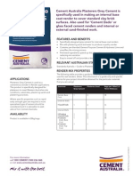 Plasterers Grey Cement - Product Data Sheet
