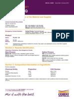 Fly Ash - Safety Data Sheet