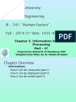 3 Chapter 3 Information Processing - Part II