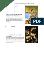 Análisis de Componentes Técnicos en Obras de Arte
