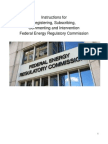 FERC Instructions