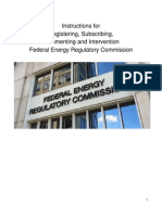 FERC Instructions