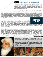 8.M.F.HUSSAIN(2PAGES).pptx