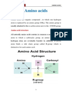 Chemistry of Amino Acid