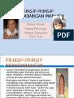 Prinsip-prinsip Perkembangan Manusia