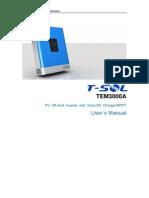 T-SOL TEM3000 User Manual