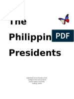 Philippine Presidents Administration Eco