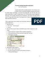 Membuat Presentasi Sederhana Dengan Flash 8