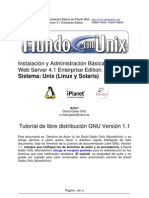 Instalación Básica de iPlanet Web
