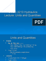 Units and Quantities