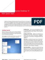 SUSE Linux Enterprise Desktop 10 KDE Quick Start