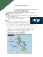 Philippines Thematic Unit (1)