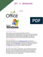 Microsoft y Windows