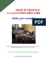 Médecine Chirurgie d'Urgence en Situation Précaire Haiti Cours 5
