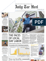 The Daily Tar Heel for April 1, 2010