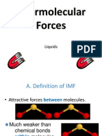 Intermolecular Force of Attraction