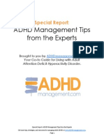 ADHDmanagement.com Special Report