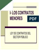 Ley de Contratos Del Sector Publico-CONTRATOS-MENORES