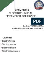 Tratamentul Electrochimic Al Sistemelor Polifazice