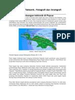 Perkembangan Tektonik Papua
