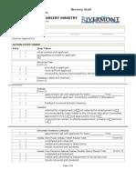 Nursery Staff-Employment Process Form [Form 1]