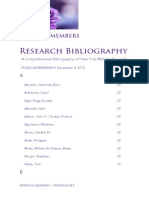 Research Bibliography