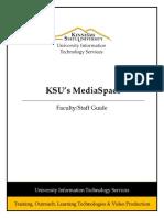 MediaSpace Fac-Staff Guide