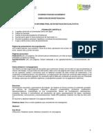 Esquema Informe Final Cualitativo,2015