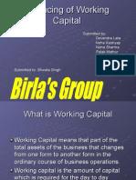 Financing of Working Capital