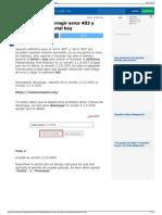 Malwarebytes Corregir Error 403 y 404 Activación Serial Key