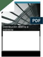 Distribución directa e indirecta