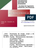 Clase 16 Economias de Escala Octubre 19