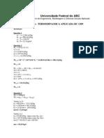 resolução simulado termodinamica