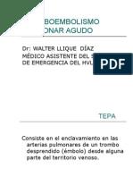 Tromboembolismo Pulmonar Agudo.2010.II