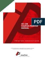CR158 Manual