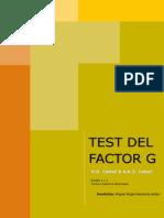 MANUAL CATTELL FACTOR G ESCALA 1 Y 2