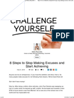 8 Steps to Stop Making Excuses and Start Achieving _ Molly Reynolds _ LinkedIn