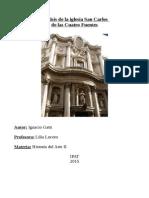 Analisis Borromini