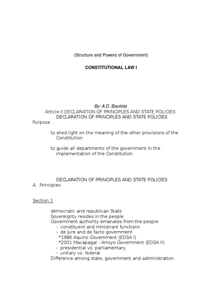 de jure government definition