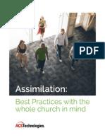 ACST Assimilation Best Practices