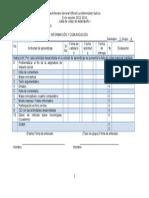 Info1 3a u3 2015 Lista de Cotejo de Desempeño