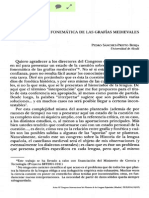 Interpretacion fonematica de ls grafias medievales