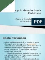 Dans Terapeutic Parkinson