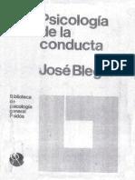 Psicologia de La Conducta; Psicologia y Filosofia.N 2Jose Bleger
