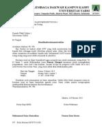 Surat Peminjaman Ramen
